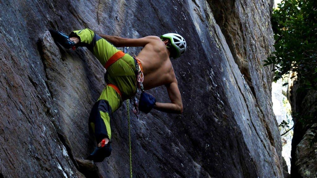 entrenamiento de escalada