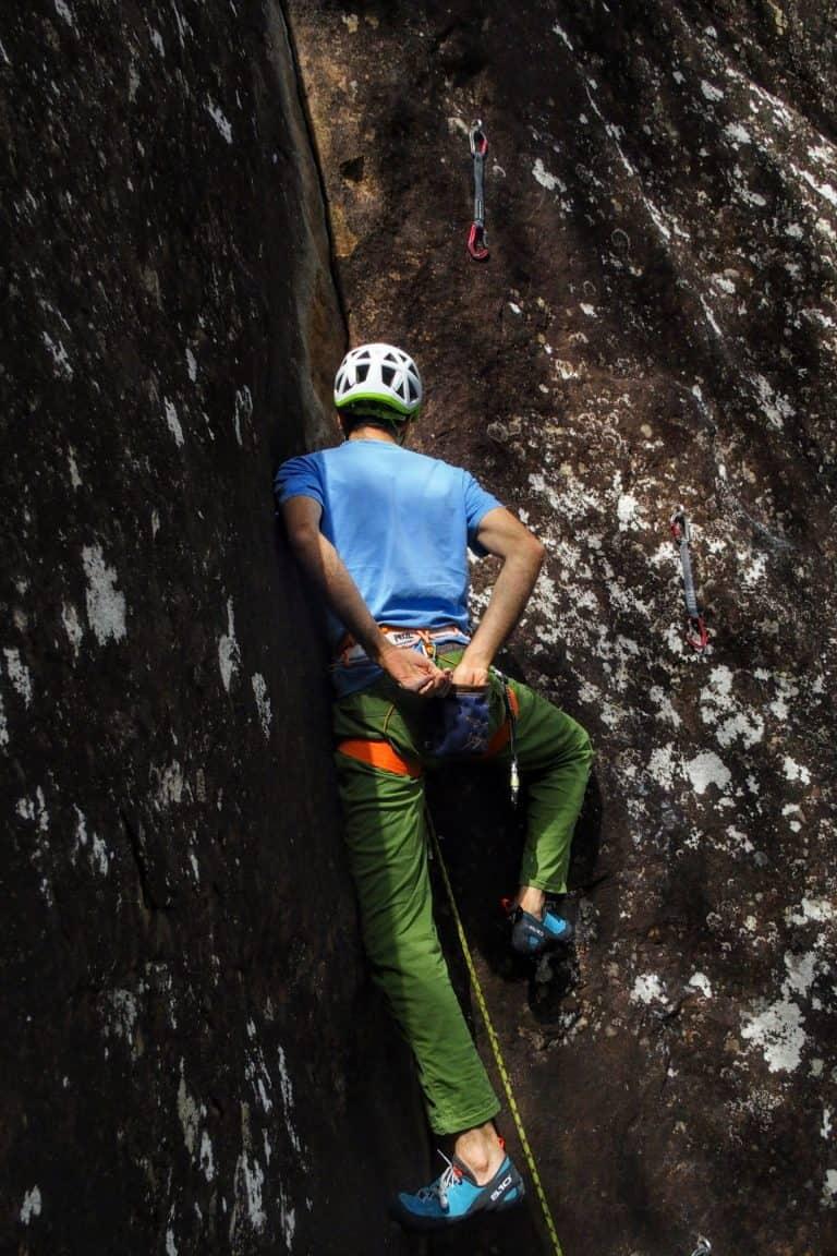 escalada sin manos tecnica
