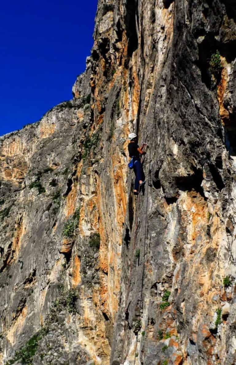 escalada maximo lastre